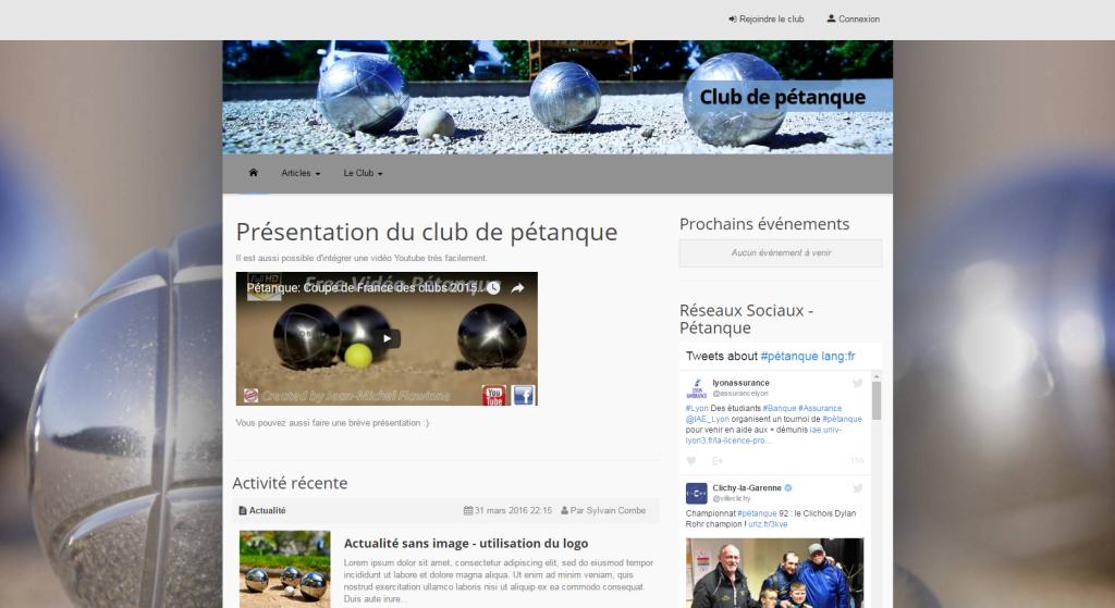 Club Pétanque
